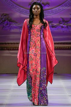 niger-Alphadi fashion collection, during Couture Fashion Week New York